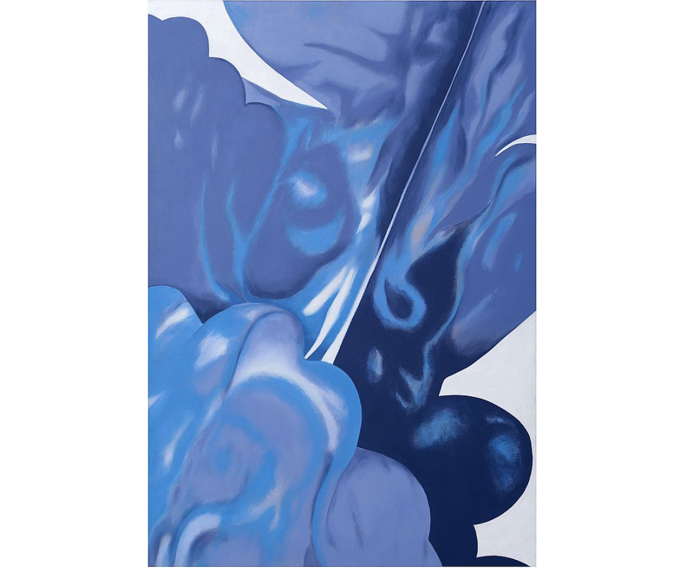 Gersony: Blue Wings series  Acrylic on canvas  1.60 X 1.00 cm  2012